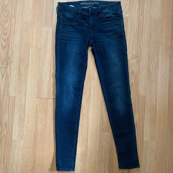 American Eagle Extreme Stretch Jeggings - 6 Long